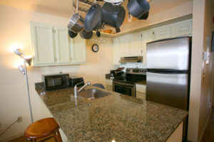 Granite Counters & Stainless Appliances