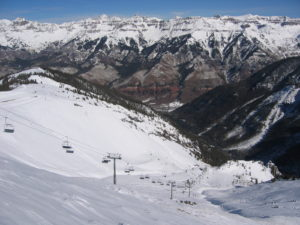 Telluride Ski Resort, Fresh snow in Telluride